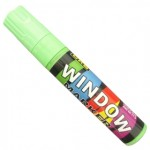 window marker verde flour