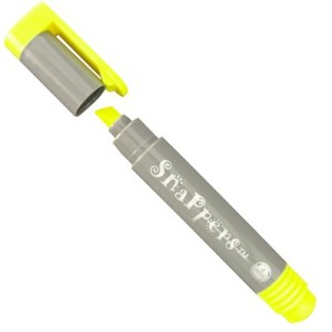 marca texto pentel amarelo