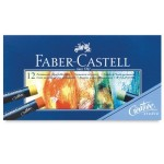 pastel oleoso faber castell 12 cores
