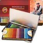 Estojo de Lápis de Cor Aquarelável Mondeluz 72 cores - Koh-I-Noor