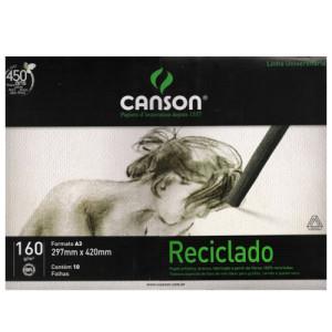 Pochette Papel Reciclado Canson