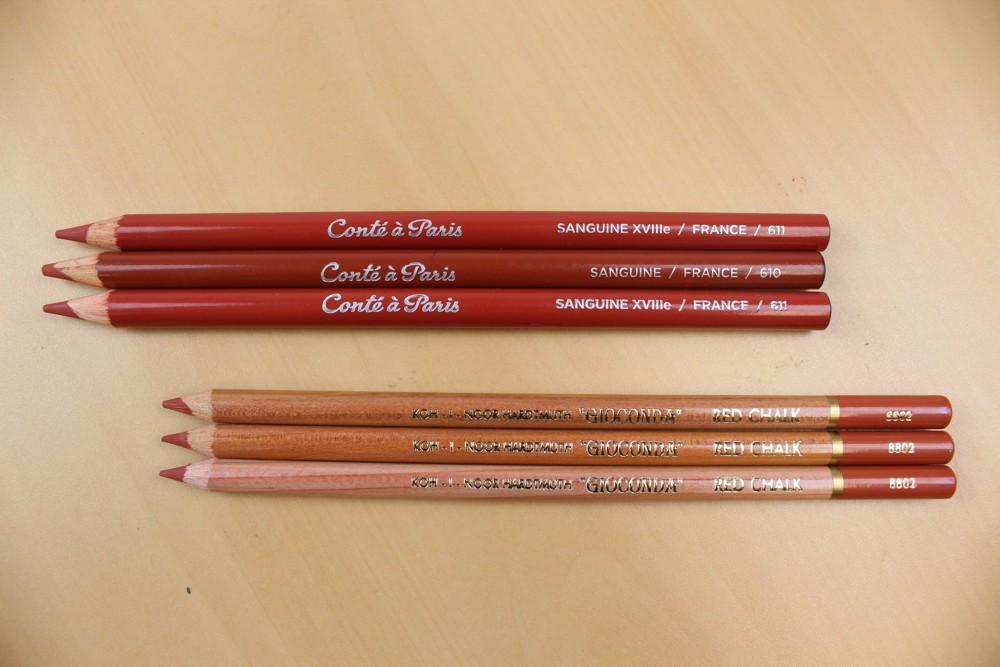 lapis sanguinea crayon conte