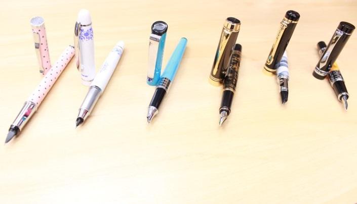 canetas tinteiro yiren barata