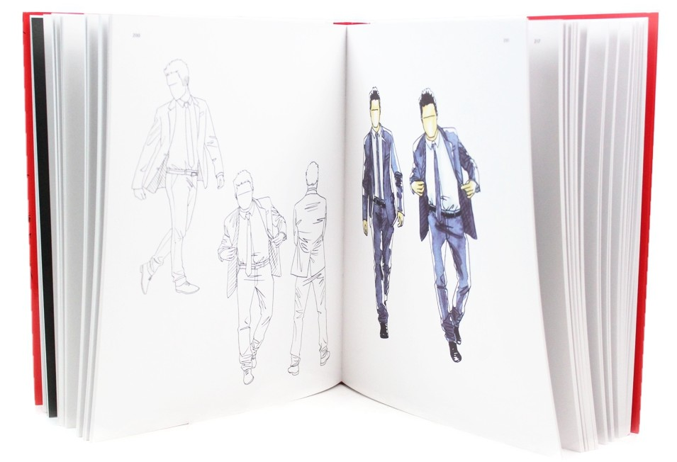 desenho moda enciclopedia livro arte ilustracao