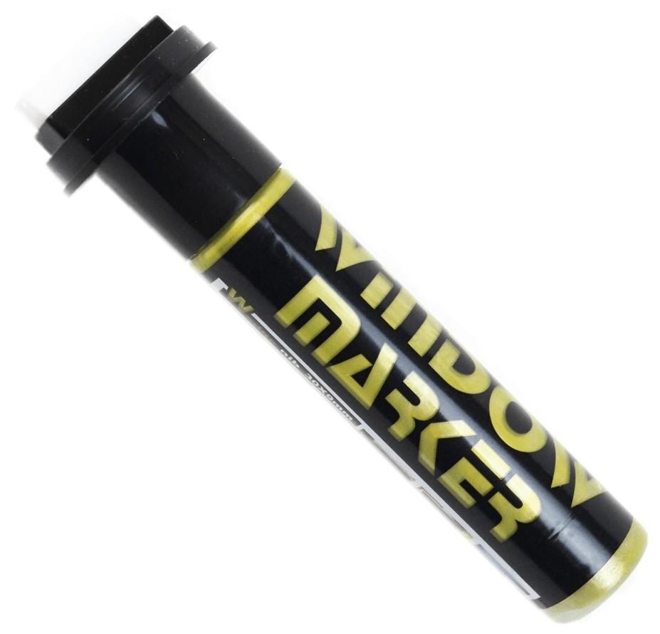 caneta vidro ouro window marker